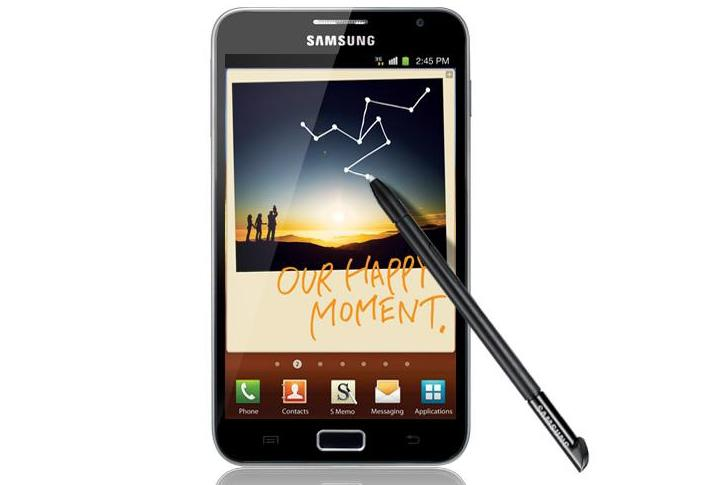 Samsung's Galaxy Note Android phone is coming soon to Vodafone Australia