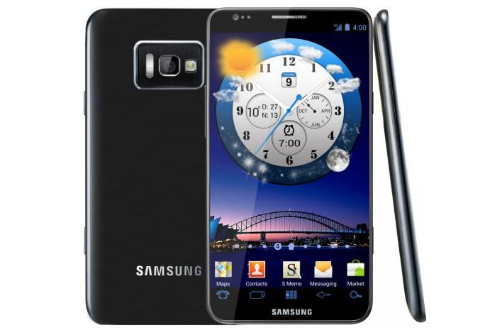 An artist impression of what the Samsung Galaxy S III could look like