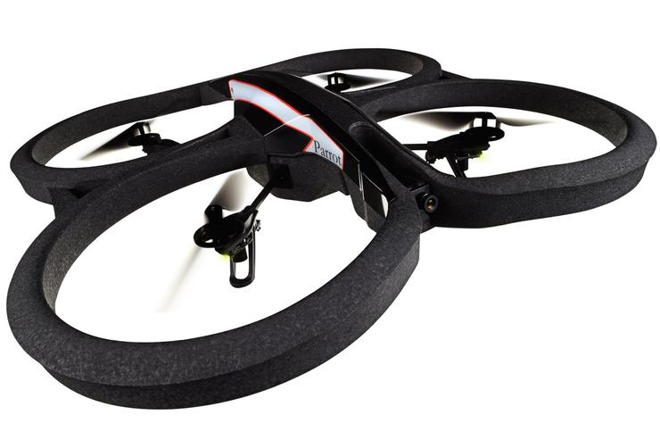 Parrot's new AR.Drone 2.0 quadricopter