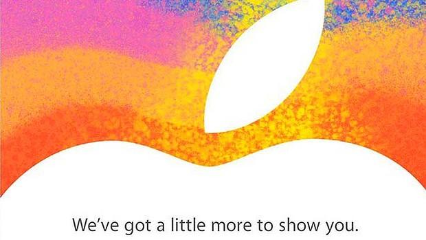 Apple's invitation sent to tech media for the October 23 event.