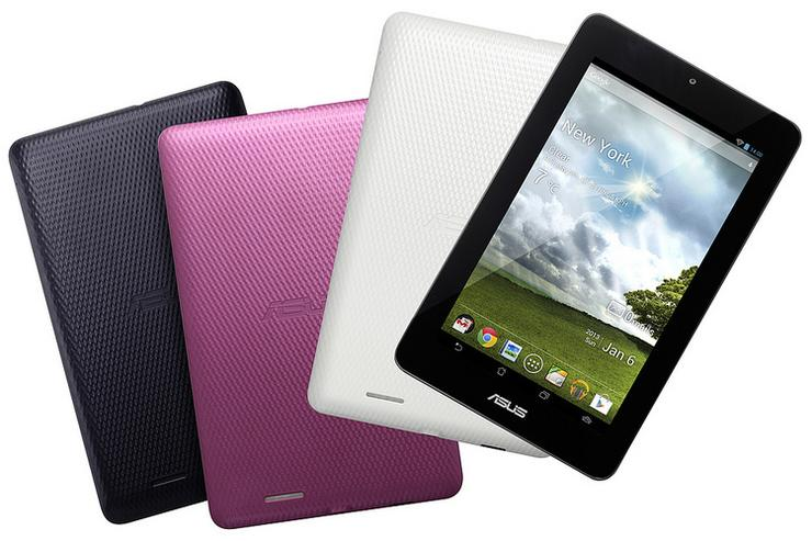 The ASUS MeMO Pad 7 Android tablet.