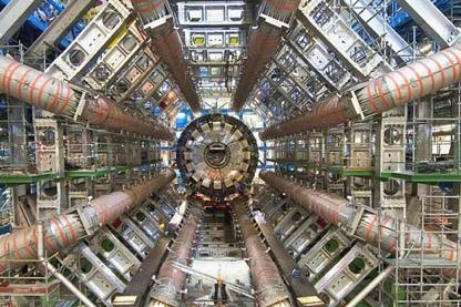 The Large Hadron Collider. (Photo credit: CERN.)