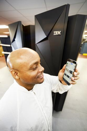 IBM's z13 mainframe is tuned for mobile transactions