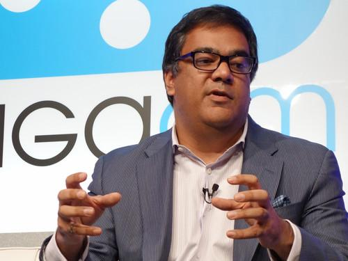 Vish Nandlall, CTO and senior vice president of strategy at Ericsson, speaking at the 2013 GigaOm Mobilize conference in San Francisco.