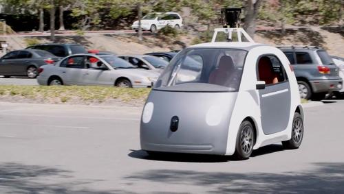 Google showed off its prototype self-driving car on Tuesday in a video and blog post. It wants to build about 100 vehicles and start a pilot program in California
