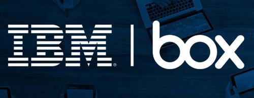 IBM and Box announced a wide-ranging cloud services partnership June 24, 2015.