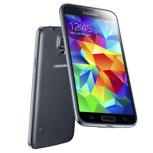 Galaxy S5 in black