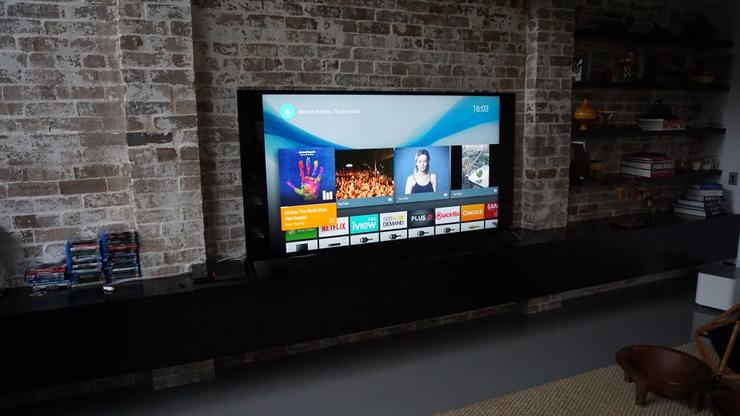 Sony's latest televisions run Android