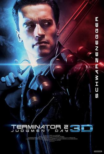 Terminator 2: Judgement Day 3D Poster