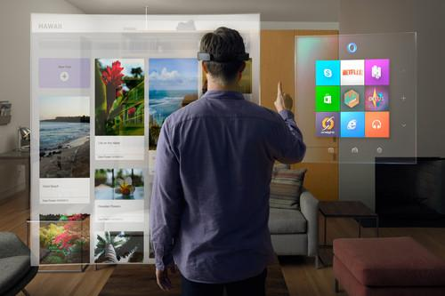 Showcasing the possibilities of holograms in Windows 10, Microsoft HoloLens is the world's first untethered holographic computer – no wires, phones or connection to a PC needed.