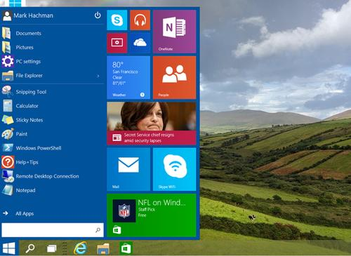 Windows 10: the future.