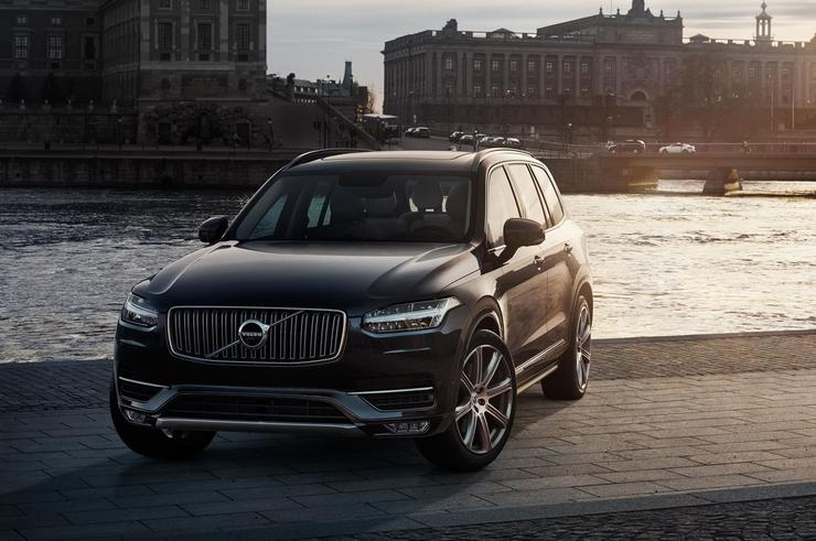 Modified Volvo XC90s were used for the South Australian test drives.