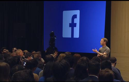 Facebook chief Mark Zuckerberg, speaking March 4, 2015, during a public Q&A in Barcelona, Spain.