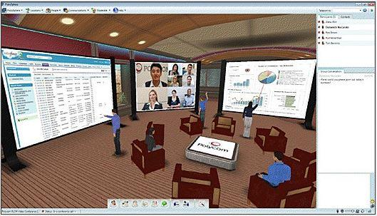 In Pictures: 3D virtual worlds for the enterprise