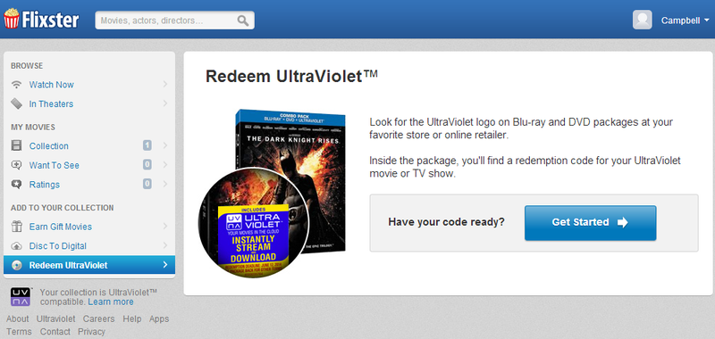 How to redeem movies with UltraViolet