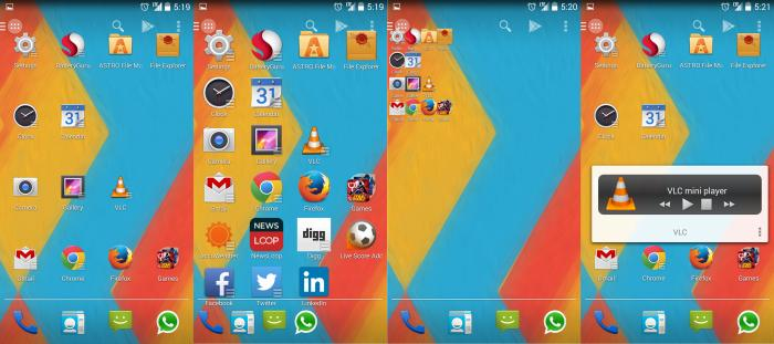 The best three Android interface apps