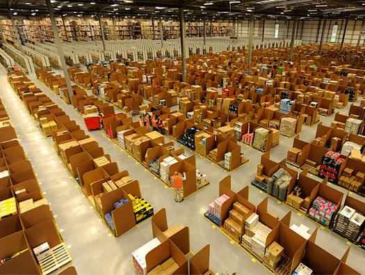 In Pictures: Inside Amazon's vast distribution business