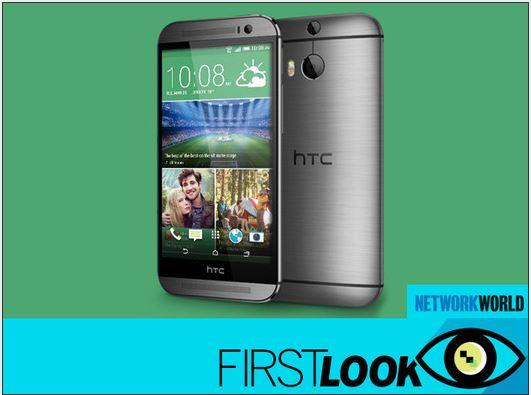 In Pictures: The HTC One M8 smartphone