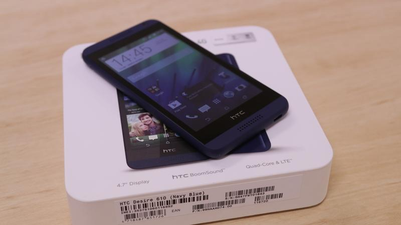 Hands on with HTC's inexpensive Desire 610