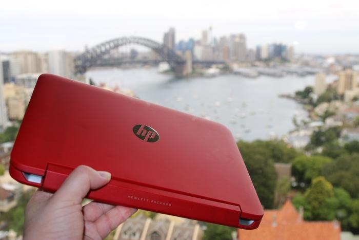 In pictures: HP Pavilion X360 red Beats Audio hybrid laptop