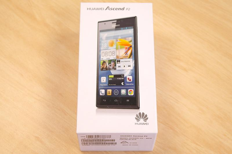 In pictures: the Huawei Ascend P2 smartphone
