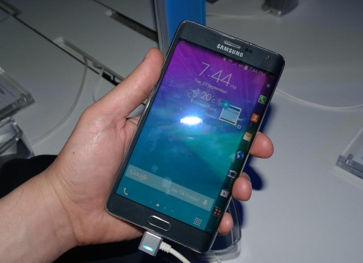 Photos: Up close with Samsung's Galaxy Note Edge