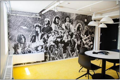 In Pictures: Spotify's artful digs