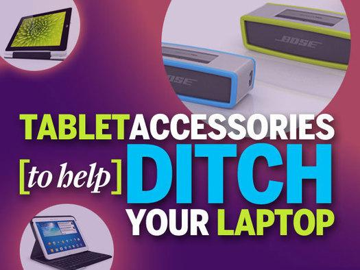 In Pictures: 12 tablet accessories that let you ditch your laptop