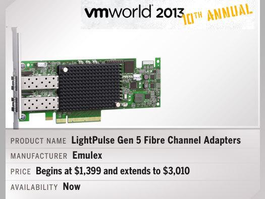 In Pictures: Hot products from VMworld 2013