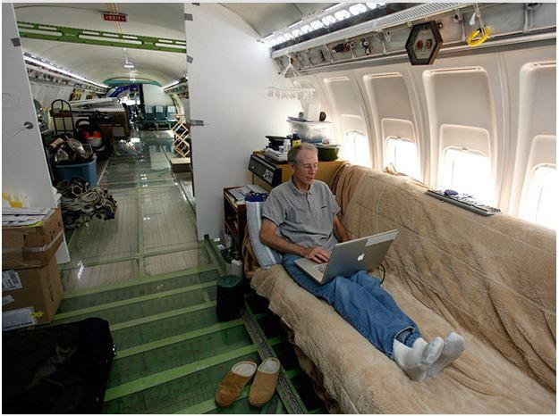 In Pictures: Coolest house in the world - a Boeing 727