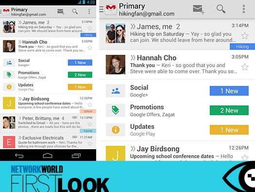 In Pictures: Gmail's latest redesign