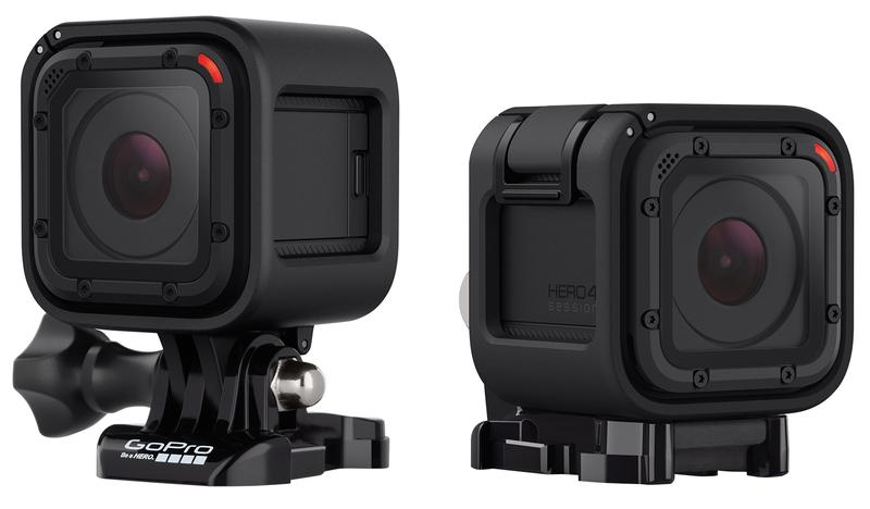 GoPro Hero4 Session: half the size, waterproof to 10 metres