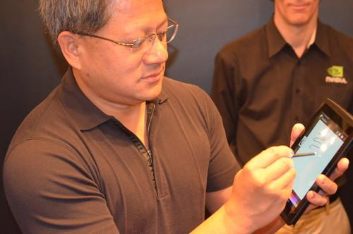 Nvidia says Tegra 4 can power a better, cheaper stylus
