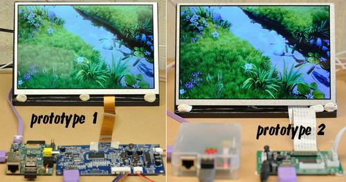 Project seeks to build inexpensive 9-inch monitor for Raspberry Pi
