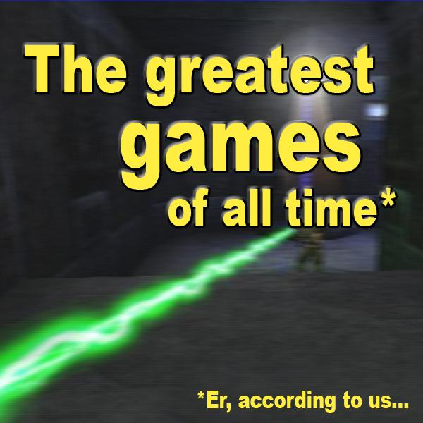 The unquestionably greatest games of all time -- according to us
