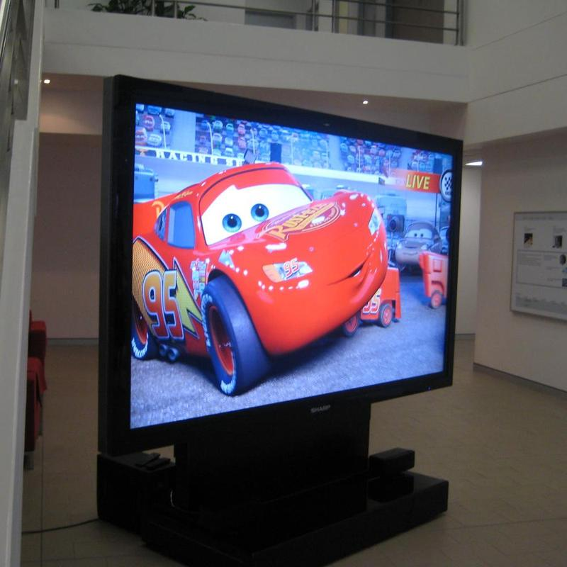 Sharp unveils the world's largest LCD television