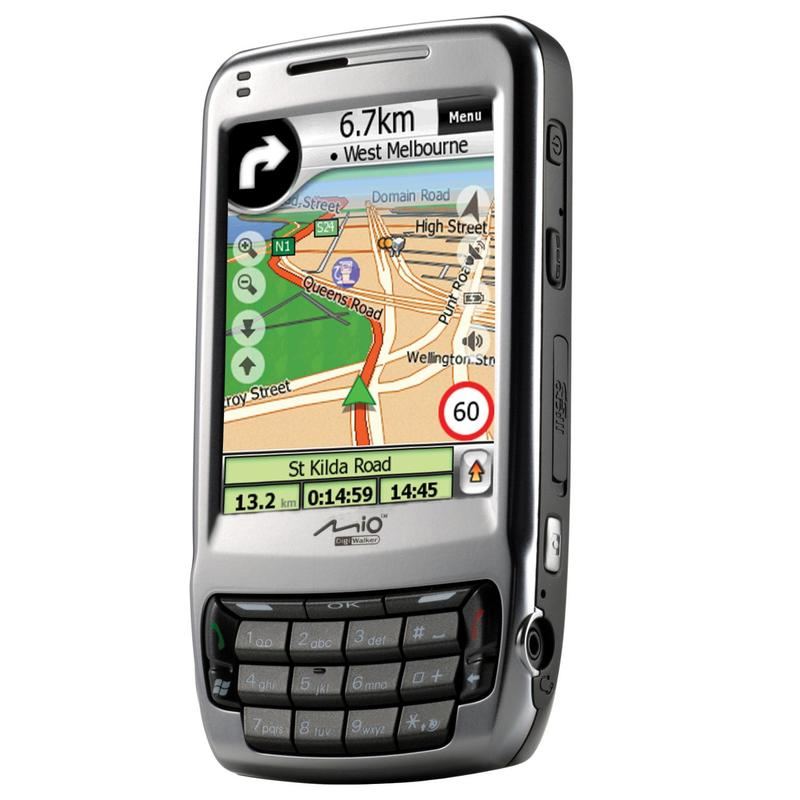 Mio launches new phone, GPS and PDA units