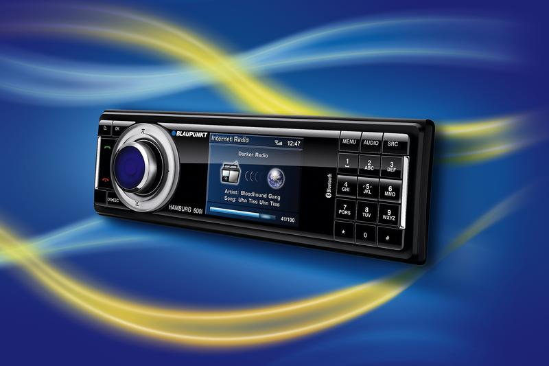 Cebit: Blaupunkt car radios tune in Internet stations via 3G