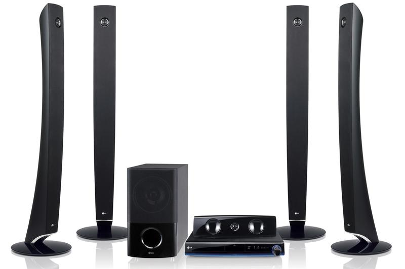 LG's Blu-ray home theatre system: the HB954WA