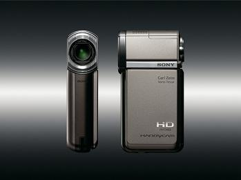 Sony Unveils Compact, GPS-Enabled HD Camcorder