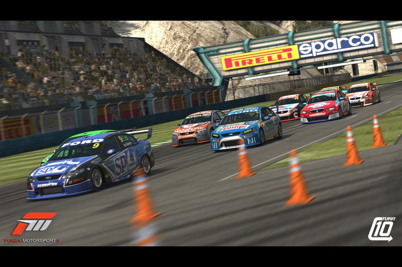 New in-game screenshots from Forza Motorsport 3
