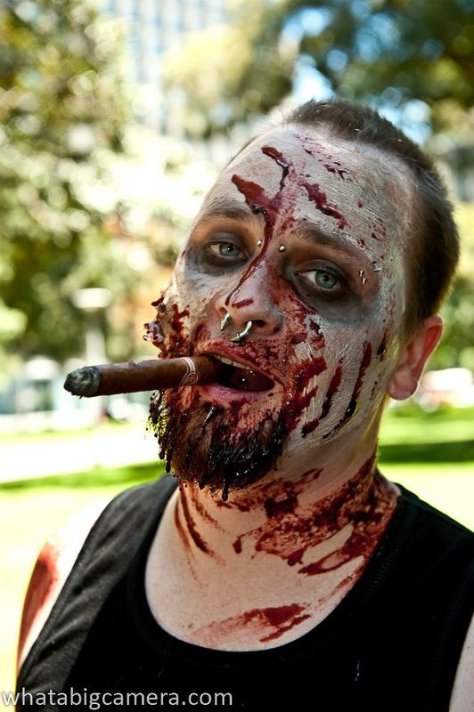 Zombie protestors infest Sydney to support violent video games