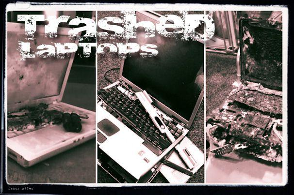 Trashed laptops: When bad things happen to (mostly) good PCs