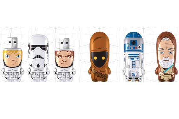 Store your stuff on a Stormtrooper: Star Wars USB drives