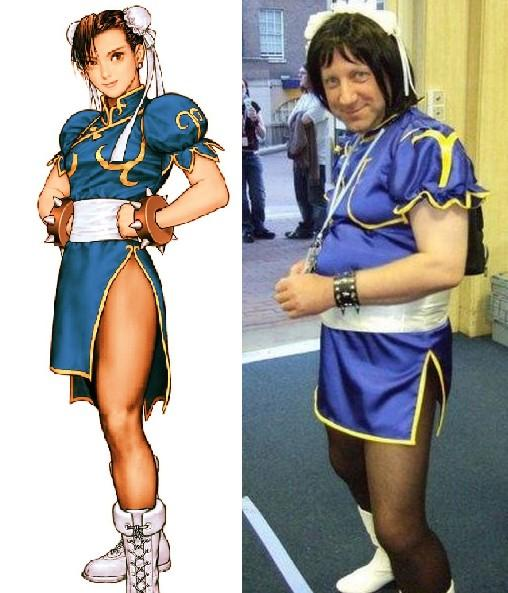 In pictures: Ultimate cosplay catastrophes