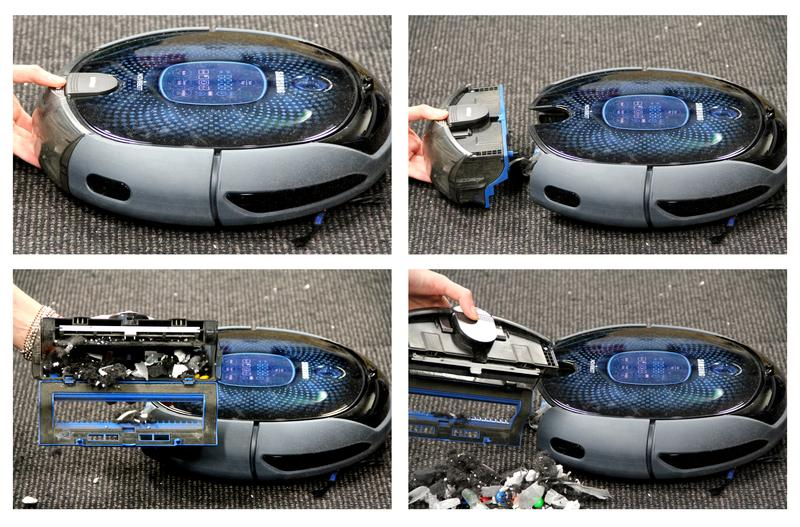Up close with Samsung's NaviBot: a robotic vacuum cleaner