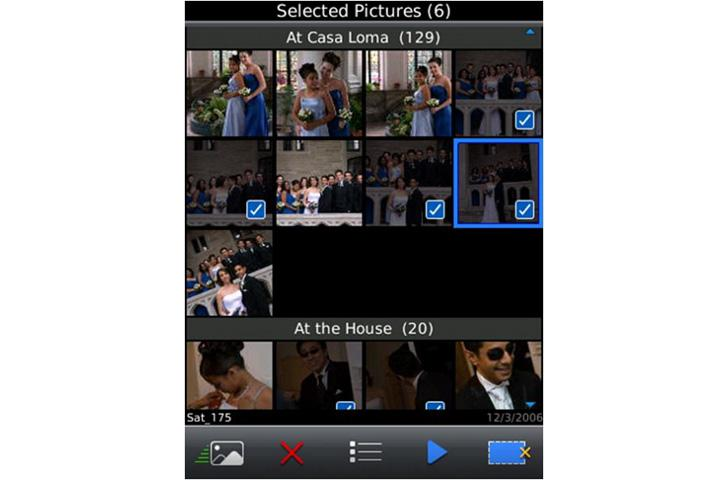 RIM offers peek at multimedia features of new OS