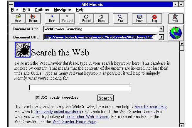 Finding stuff online: 20 years of innovative search engines