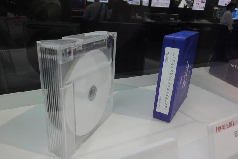 Hitachi-LG prototypes 1TB Blu-ray cartridge storage