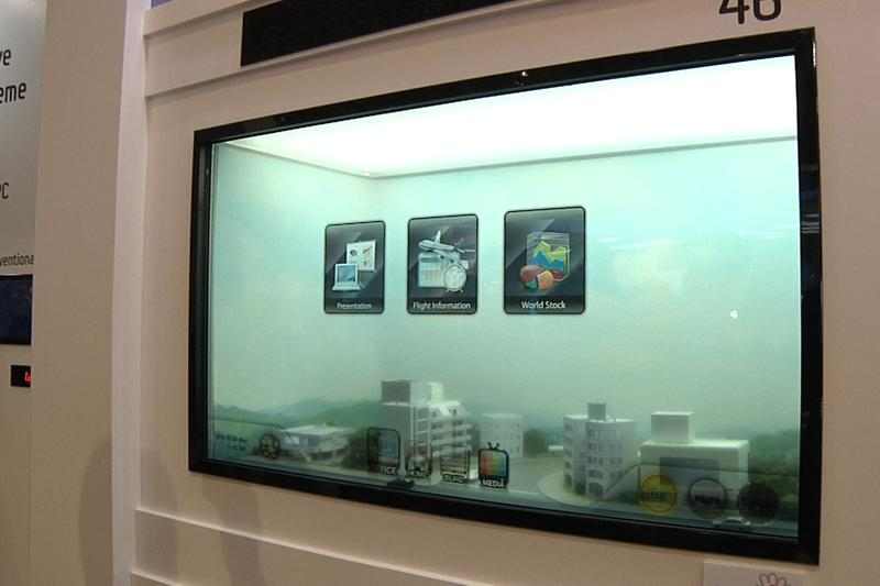 Samsung develops see-through screens to replace windows